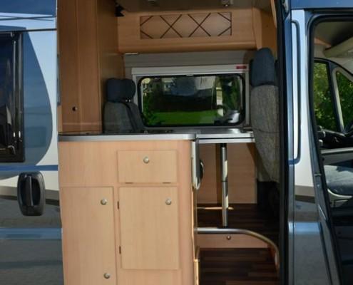 Wohnmobil Boxstar Solution 600