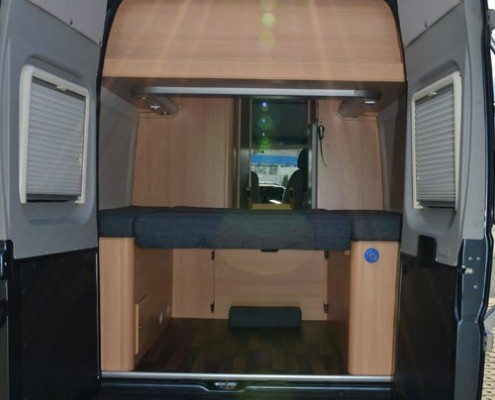 Wohnmobil Boxstar Solution 600