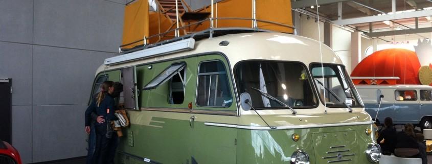 Wohnmobile Erlangen Hymermuseum altes Wohnmobil