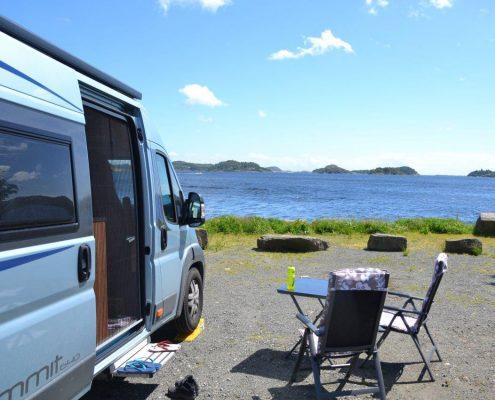 Wohnmobil in Norwegen