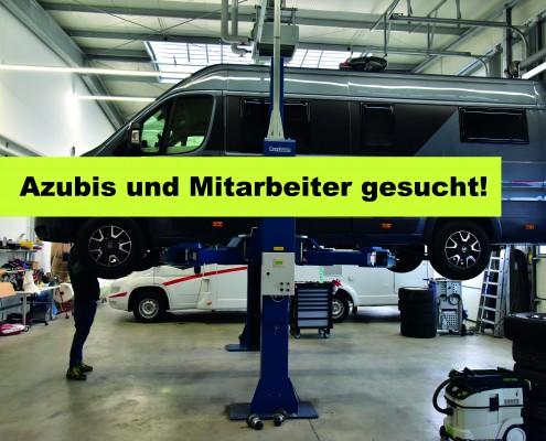Wohnmobile Erlangen Azubis und Mitarbeiter gesucht