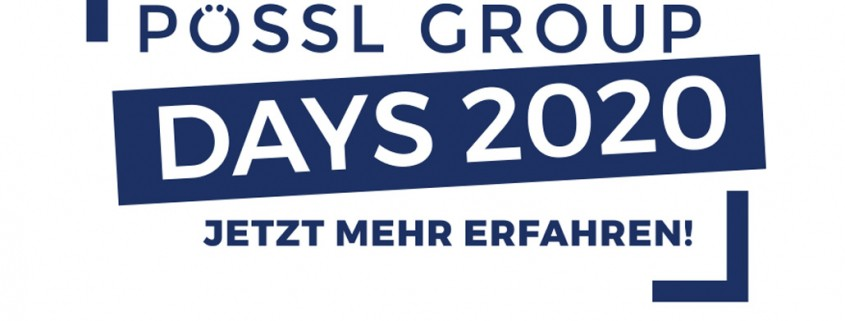 Pössl Group Days 2020