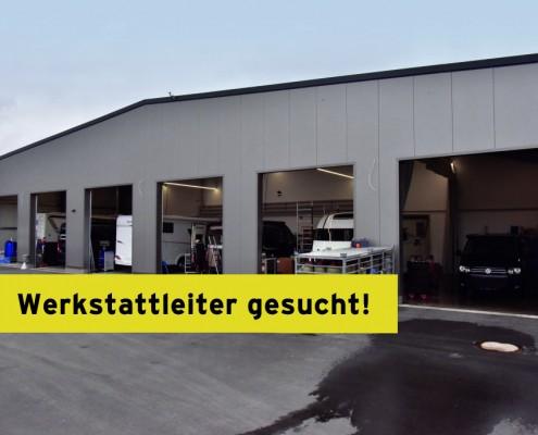 Wohnmobile Erlangen Werkstattleiter gesucht