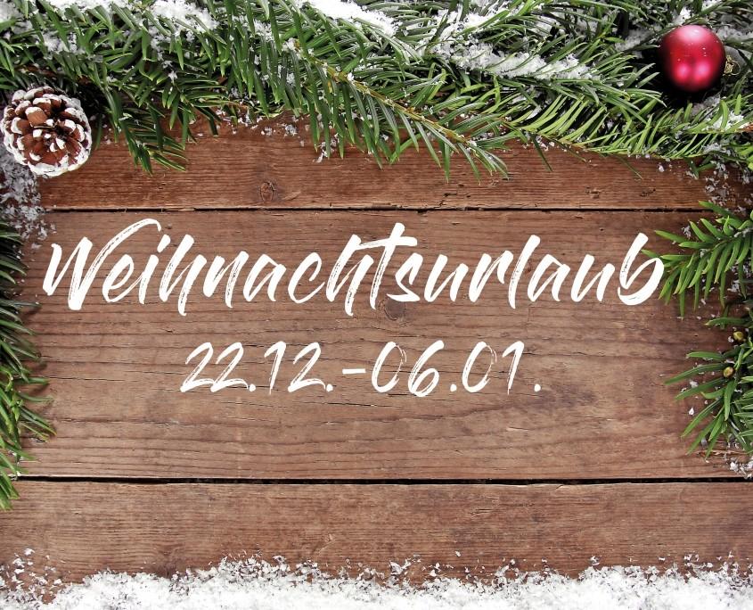 Wohnmobile Erlangen Weihnachtsurlaub Karte