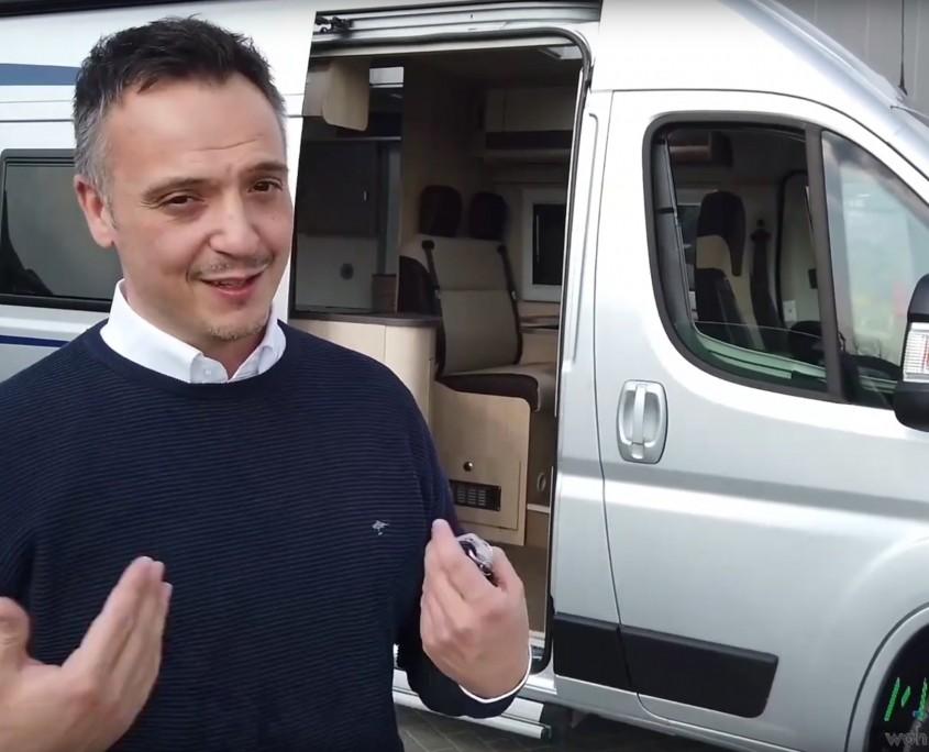 Wohnmobile Erlangen Einweisung Kastenwagen großes Bild